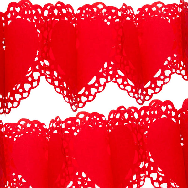 Lace Heart Garland