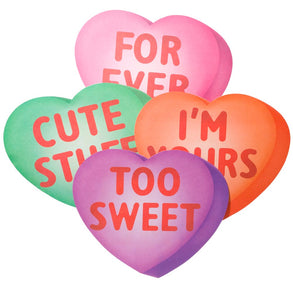Candy Heart Cutouts