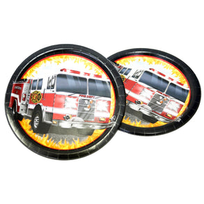 "Fire Watch 9"" Plates"