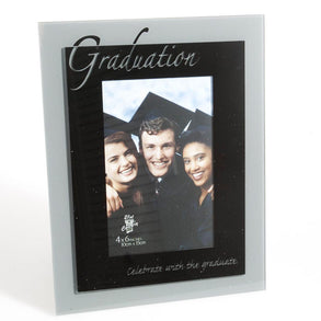 Black & Silver Graduation Picture Frame
