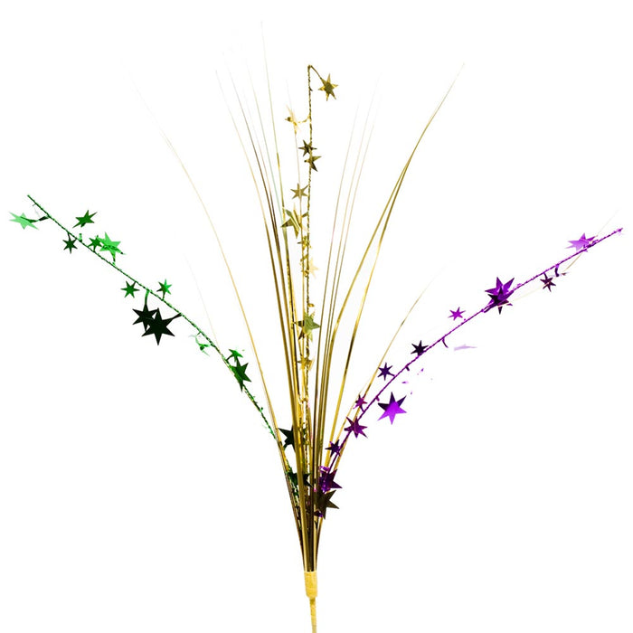 Mardi Gras Stars Centerpiece Spray