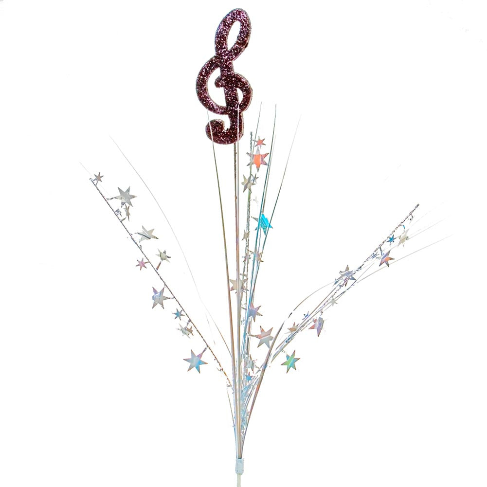 Music Note Centerpiece Sprays -pkg/12