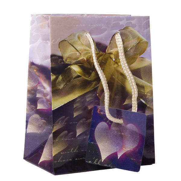 Gold Bow Wedding Gift Bags