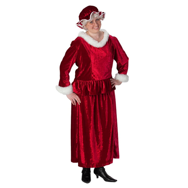 Mrs. Claus Costume Set (16-18)