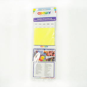 100 Yellow Tyvek Security Wristbands