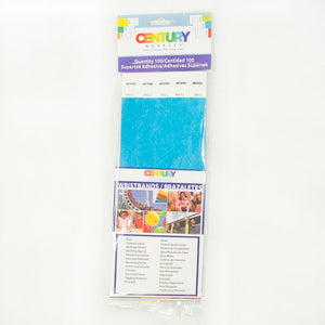 100 Blue Tyvek Security Wristbands