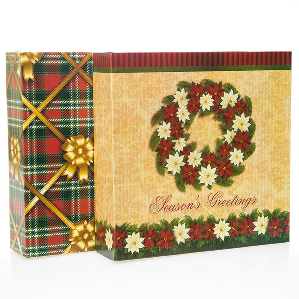 Medium Flat Christmas Square Boxes