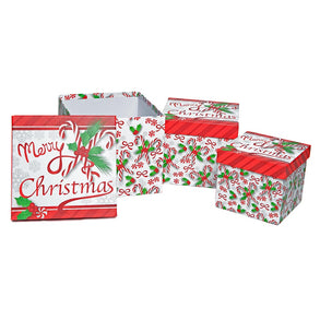 3 Piece Sweet Christmas Gift Boxes
