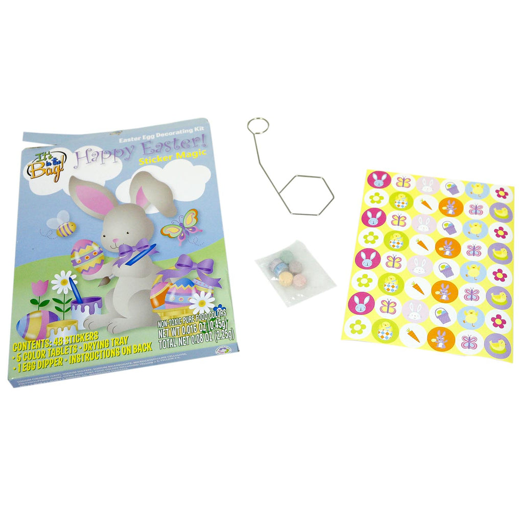 Easter Egg Sticker Magic Decorating Kit