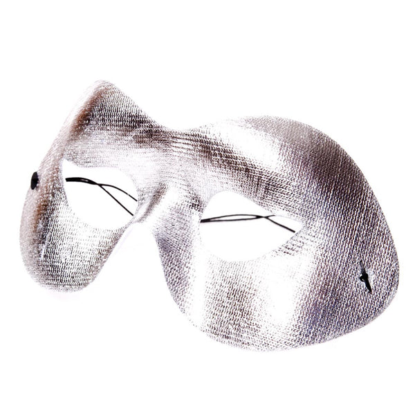 Silver Cocktail Half Mask