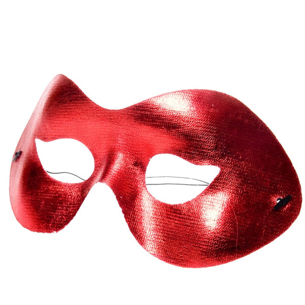 Red Cocktail Half Mask