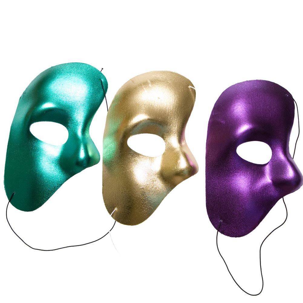 Mardi Gras Phantom Mask