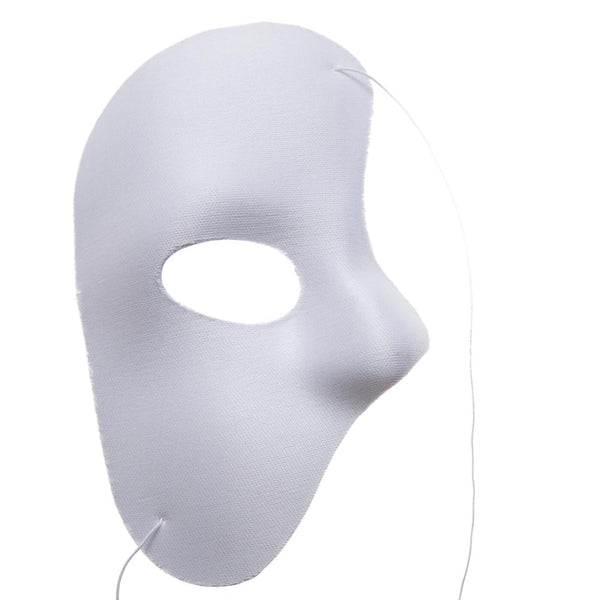White Phantom Mask