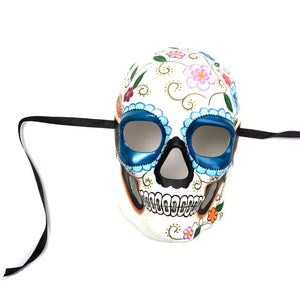 Traditional Day of The Dead Full Mask