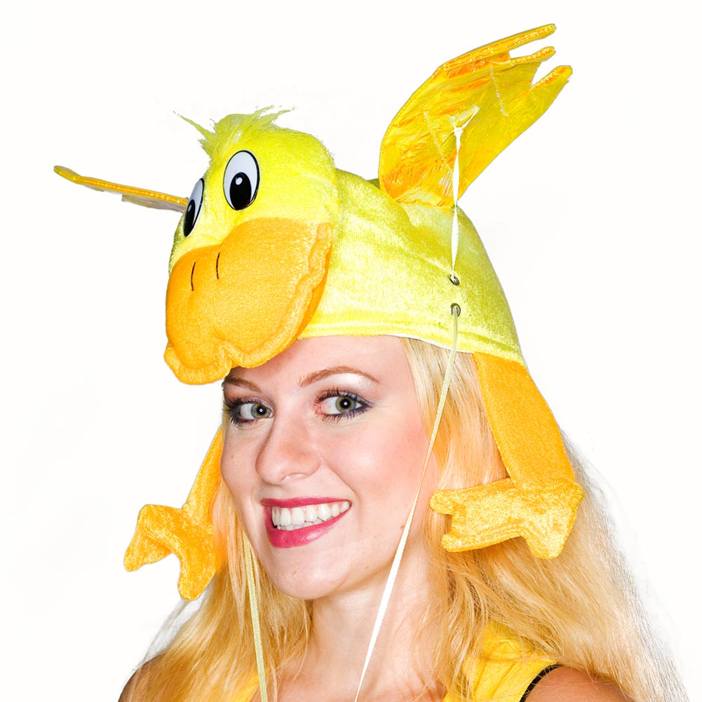 Yellow Flying Duck Hat