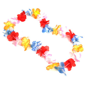 Multicolor Flower Lei