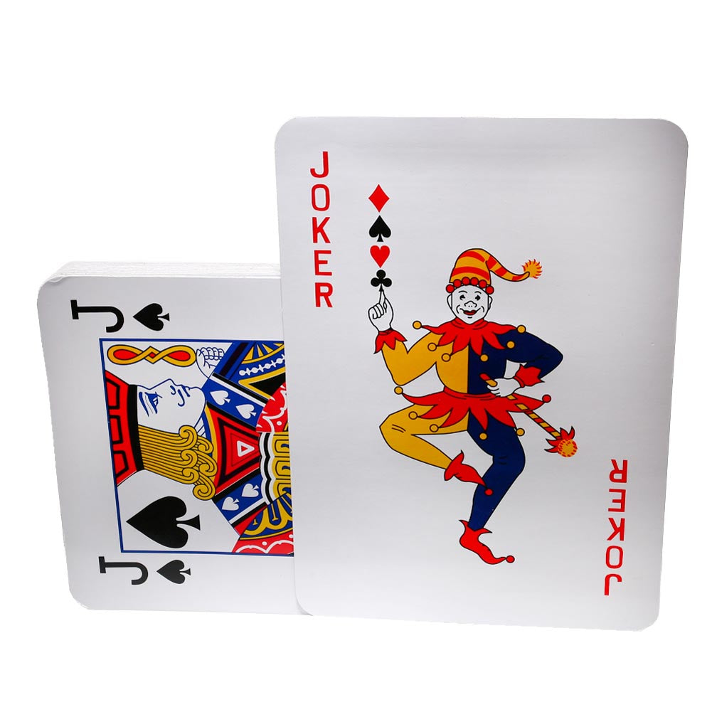 "Jumbo Playing Cards - 10.5"" x 14.5"""
