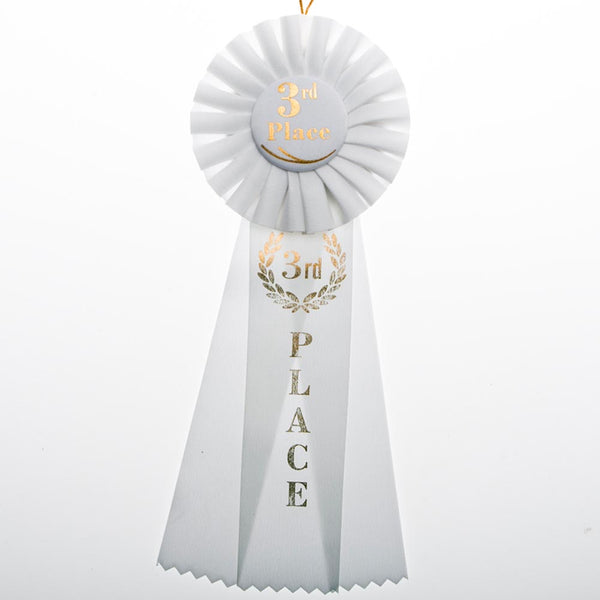 3rd Place Rosette Ribbon
