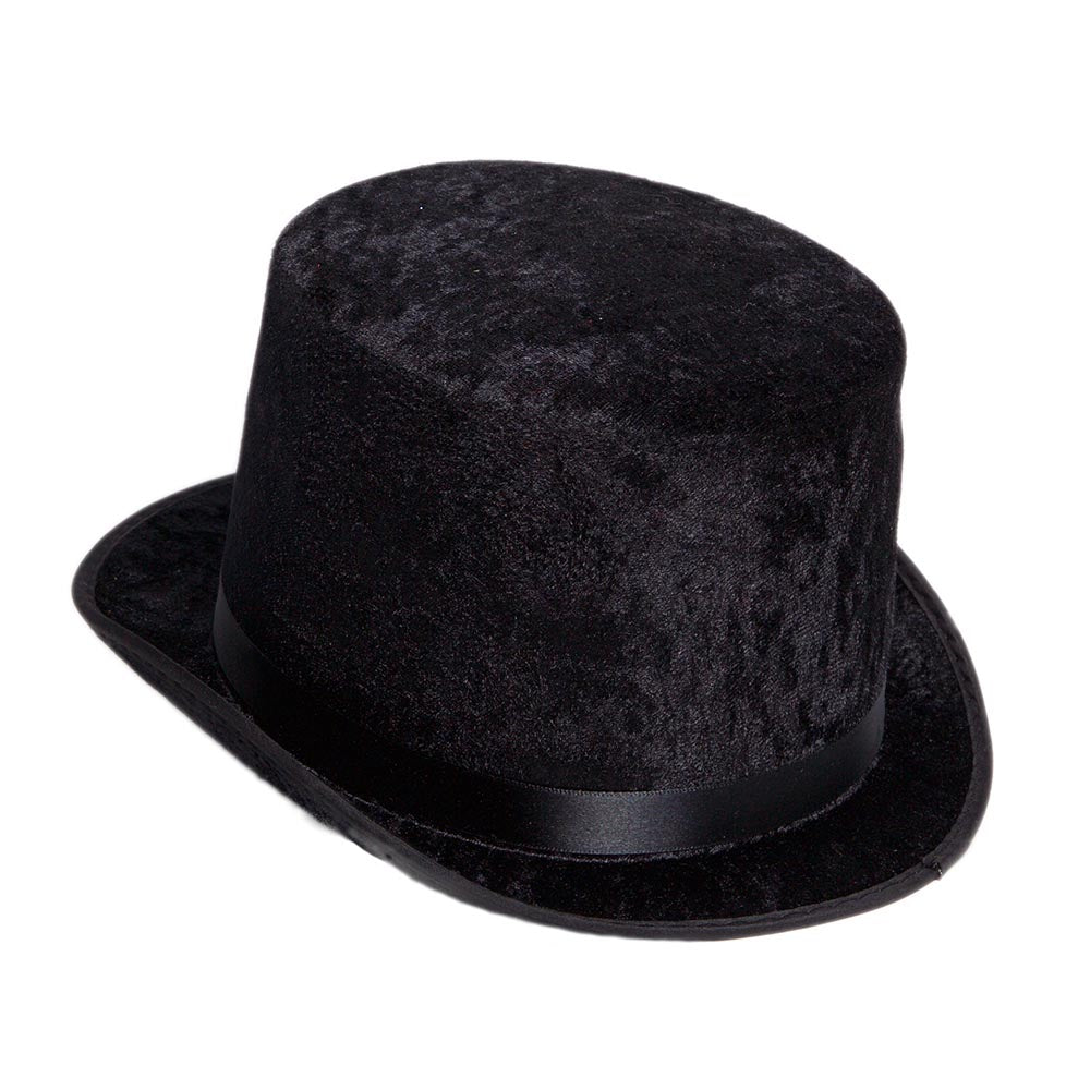 Deluxe Black Top Hat