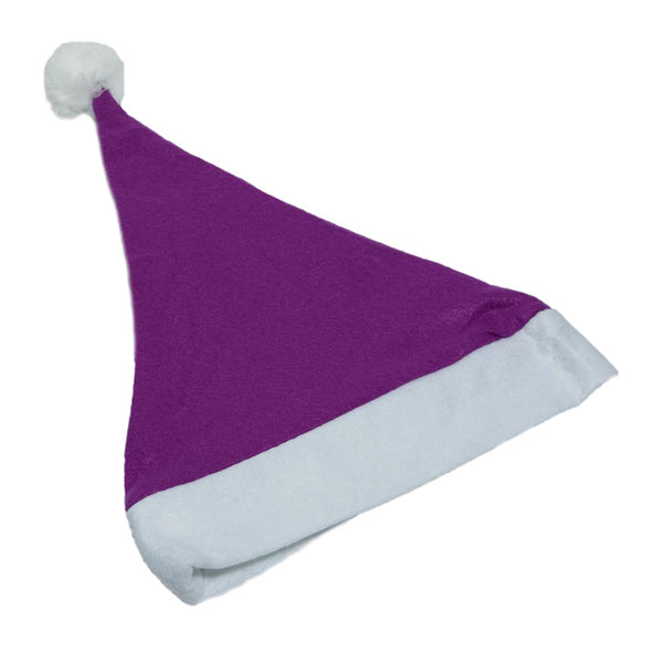 Purple Felt Santa Hat