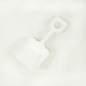 "6"" White Plastic Shovel"
