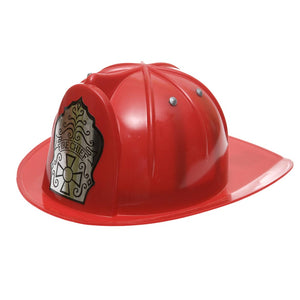 Deluxe Child Fire Chief Hat