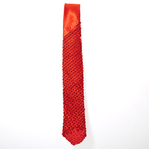 Red Sequin Tie