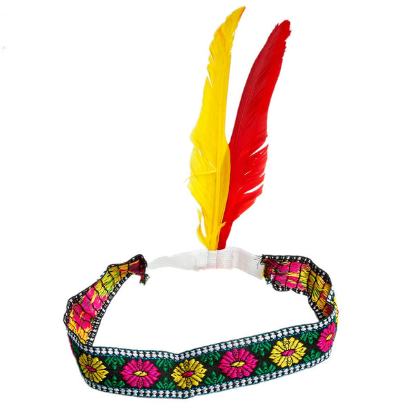 Ladies Feather Indian Headdress