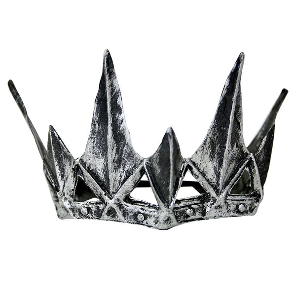 Silver Spiked Crown