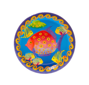 "Tropical Fish 7"" Plates"