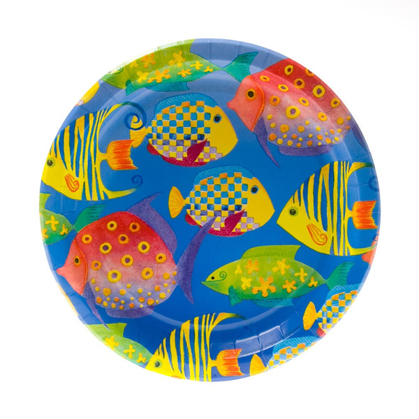 "Tropical Fish 9"" Plates"