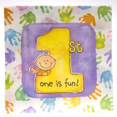 First Birthday Lunch Napkins