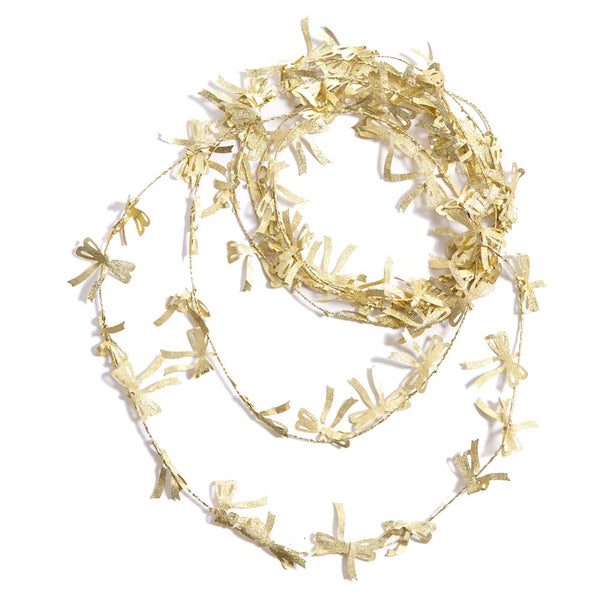 Gold Bow Garland