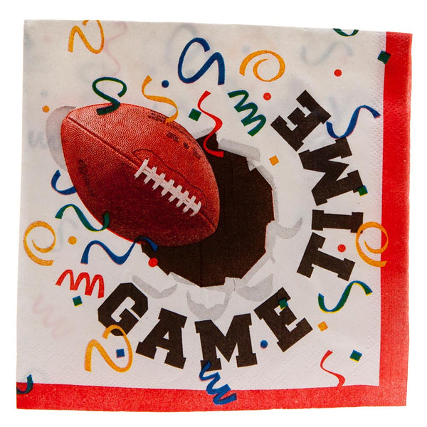Football Lunch Napkins