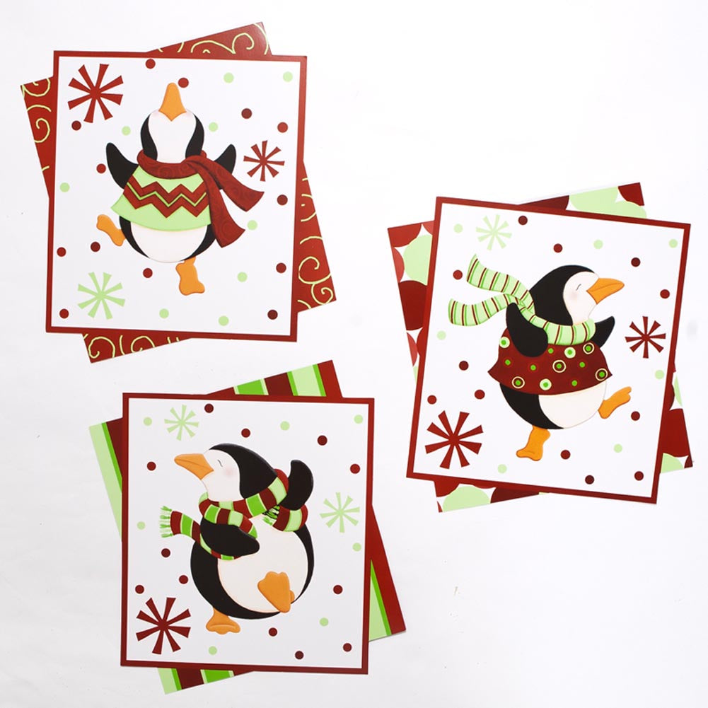 Dancing Penguin Cutouts
