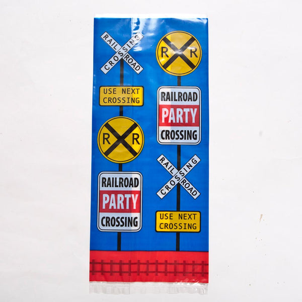 Railroad Cellophane Party Bags