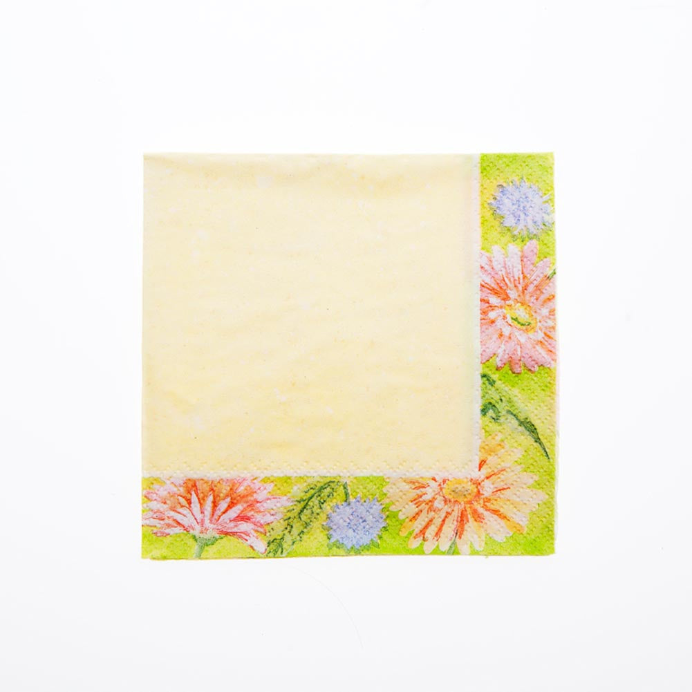 Summer Daisies Beverage Napkins