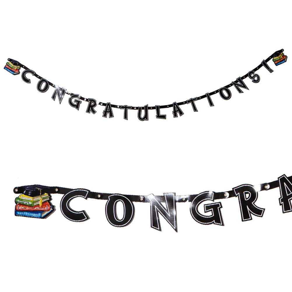 """Congratulations"" Graduation Banner"