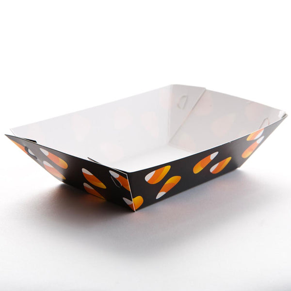 Candy Corn Paper Food Trays