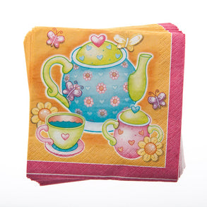 Tea Time Beverage Napkins