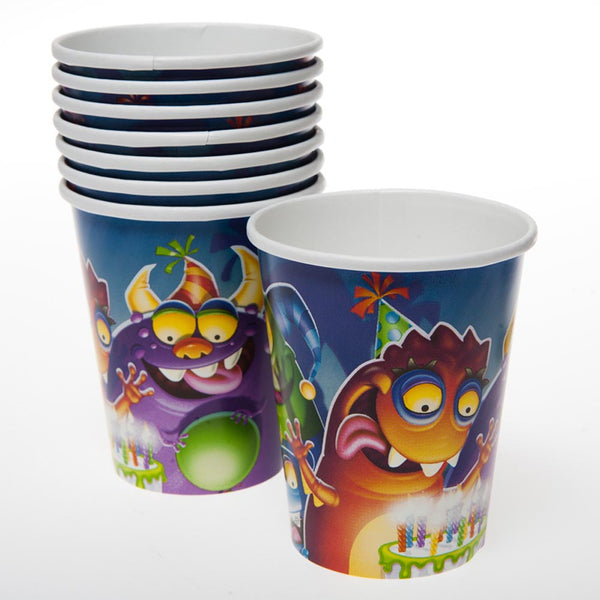 Birthday Monster 9 oz. Cups