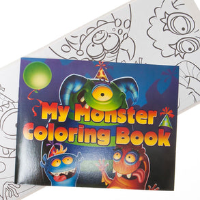 Birthday Monster Coloring Books