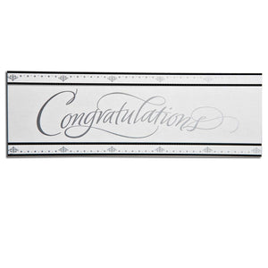 """Congratulations"" Giant Anniversary Banner"