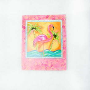 Tropical Flamingo Invitations
