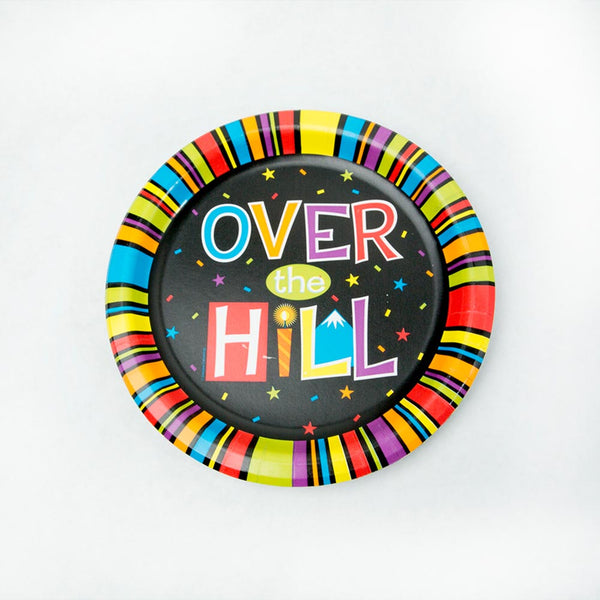 "Over The Hill 7"" Plates"