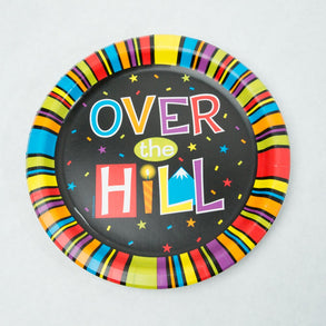 "Over The Hill 9"" Plates"