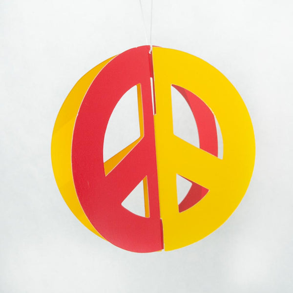 Peace Sign Hanging Cutouts