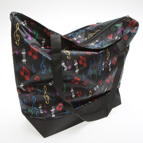Large Music Tote Bag w/ Reinforced Bottom