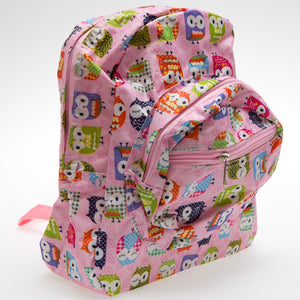 Pink Owl Backpack