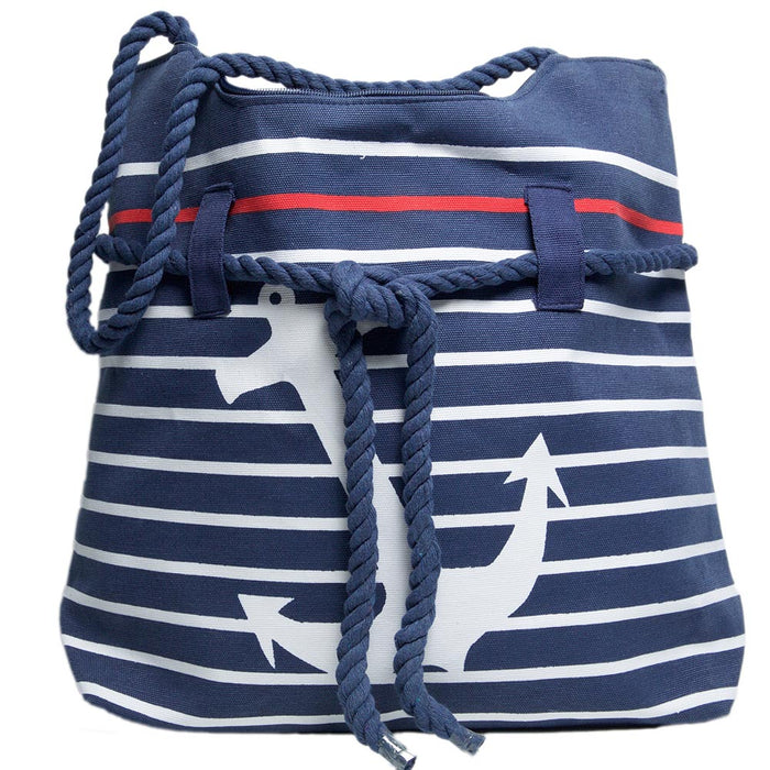 Large Anchor Rope Tote